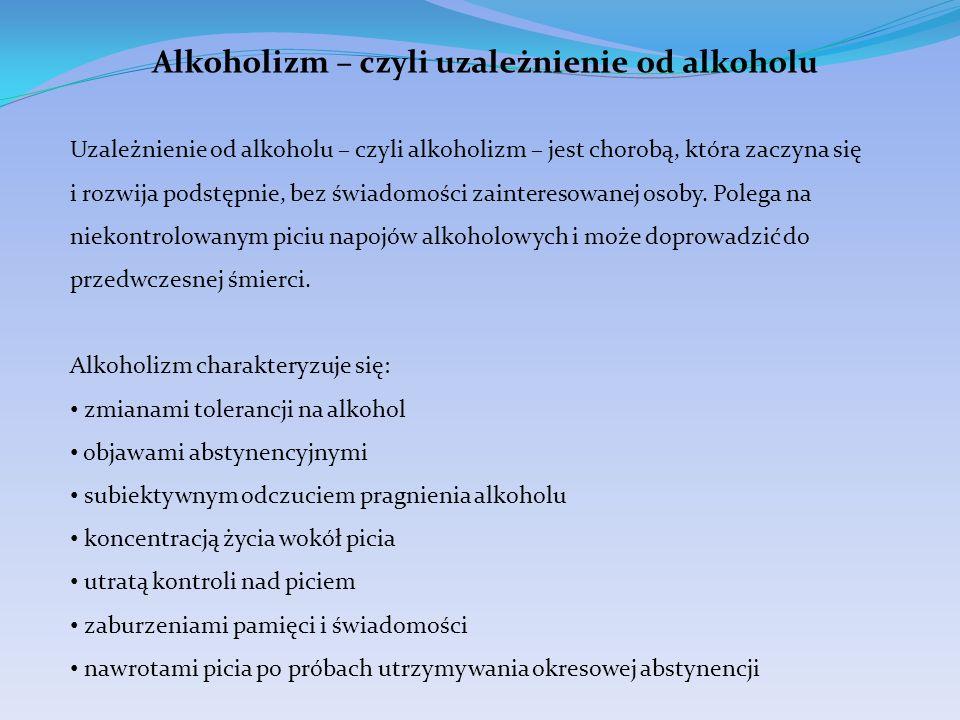 Alkoholizm – czyli uzależnienie od alkoholu