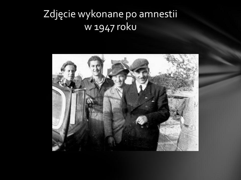 Zdjęcie wykonane po amnestii w 1947 roku