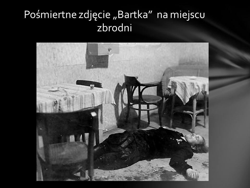 """Pośmiertne zdjęcie """"Bartka na miejscu zbrodni"""