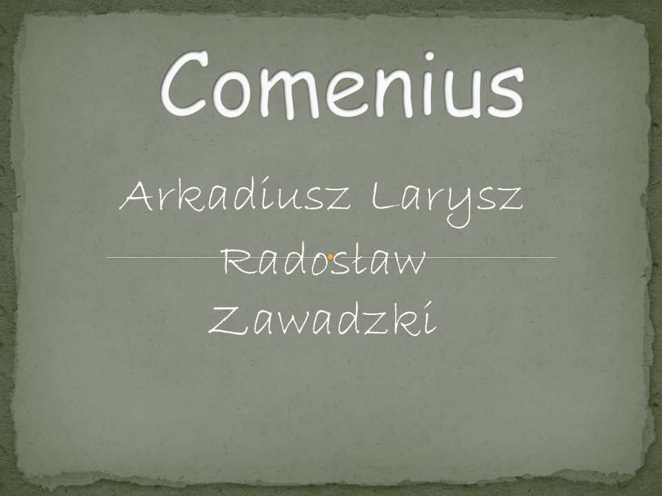 Arkadiusz Larysz Radosław Zawadzki