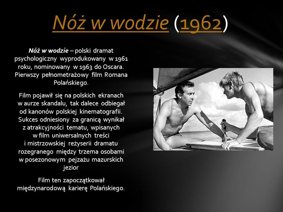 Nóż w wodzie (1962)