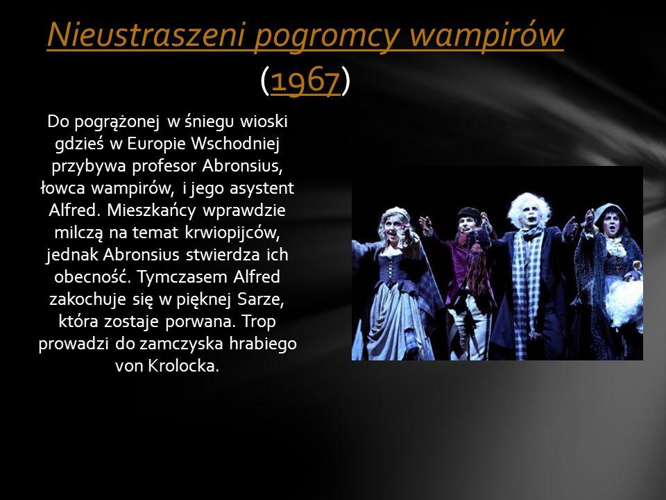 Nieustraszeni pogromcy wampirów (1967)