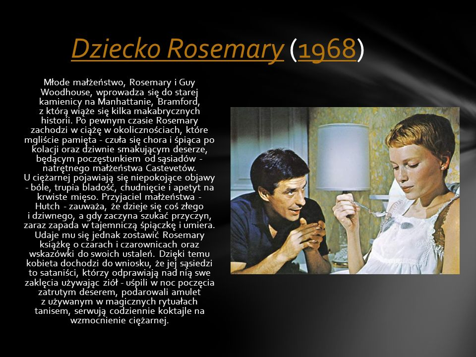 Dziecko Rosemary (1968)