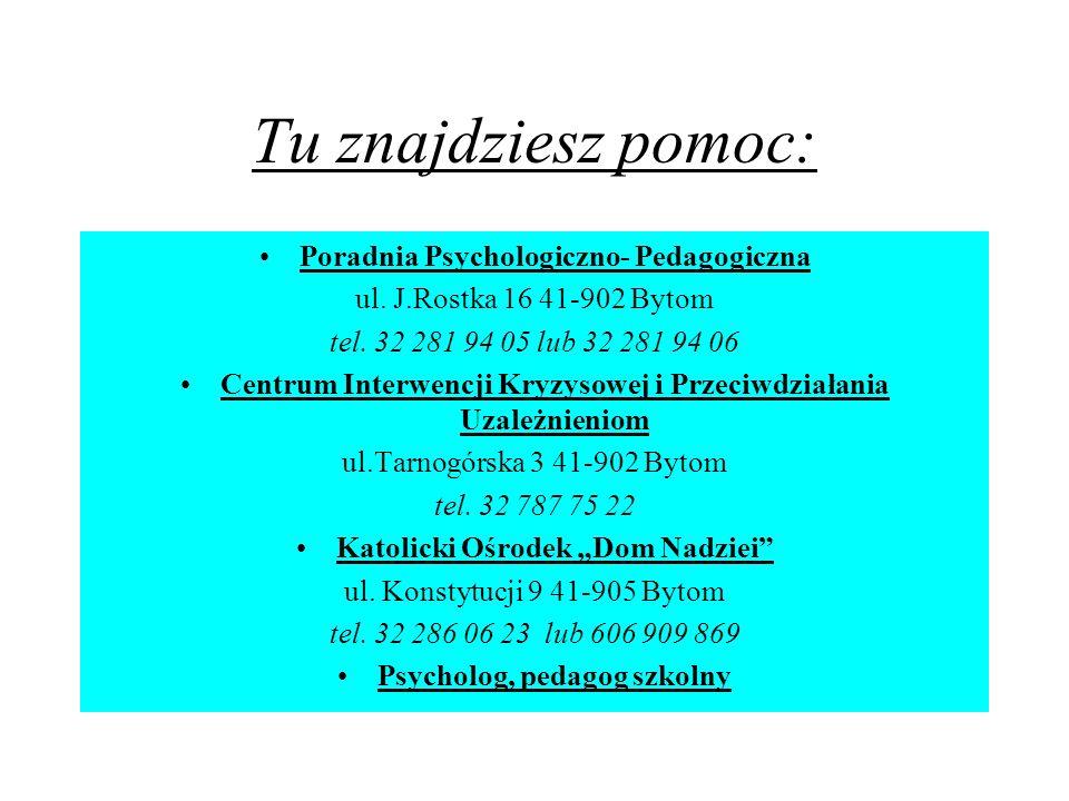 """Katolicki Ośrodek """"Dom Nadziei Psycholog, pedagog szkolny"""