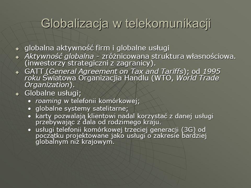 Globalizacja w telekomunikacji