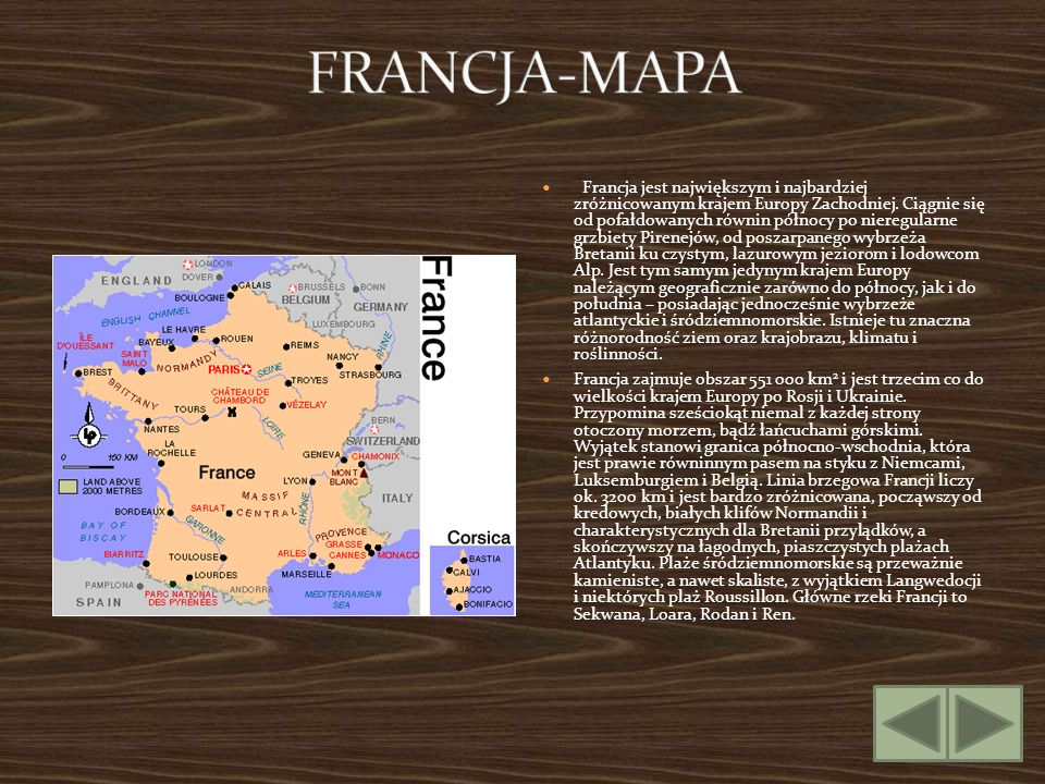 FRANCJA-MAPA