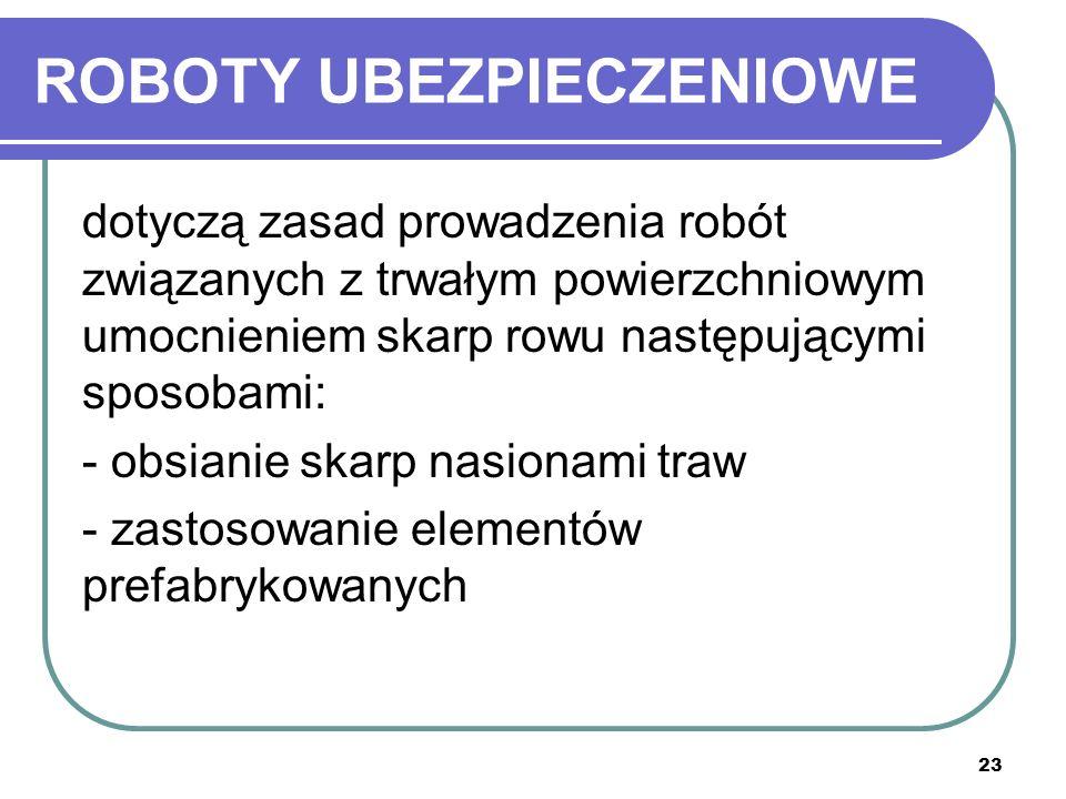 ROBOTY UBEZPIECZENIOWE