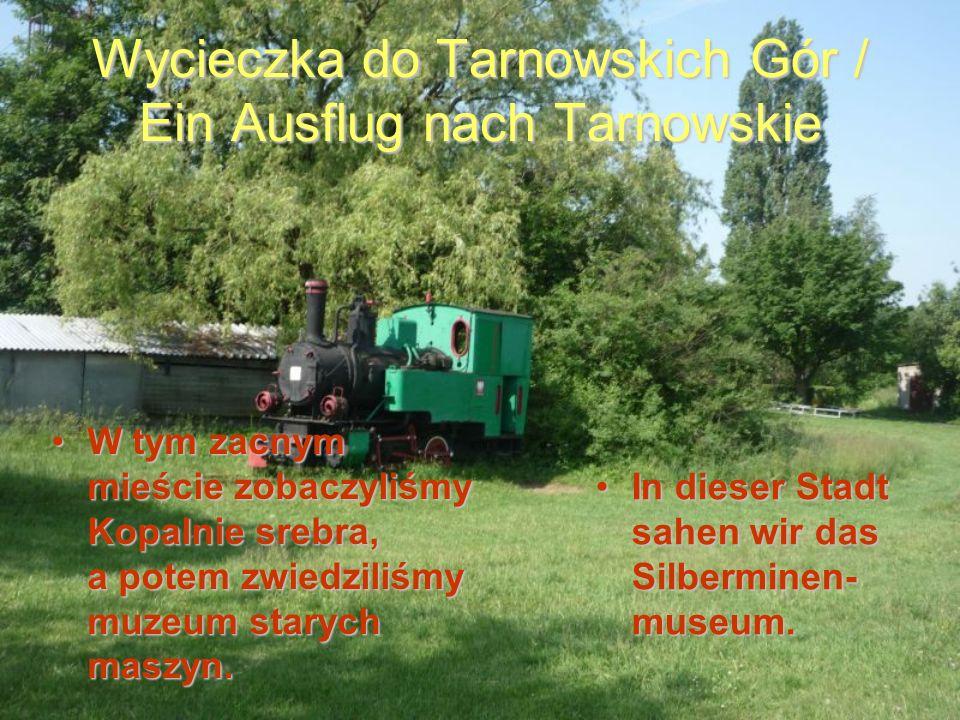 Wycieczka do Tarnowskich Gór / Ein Ausflug nach Tarnowskie