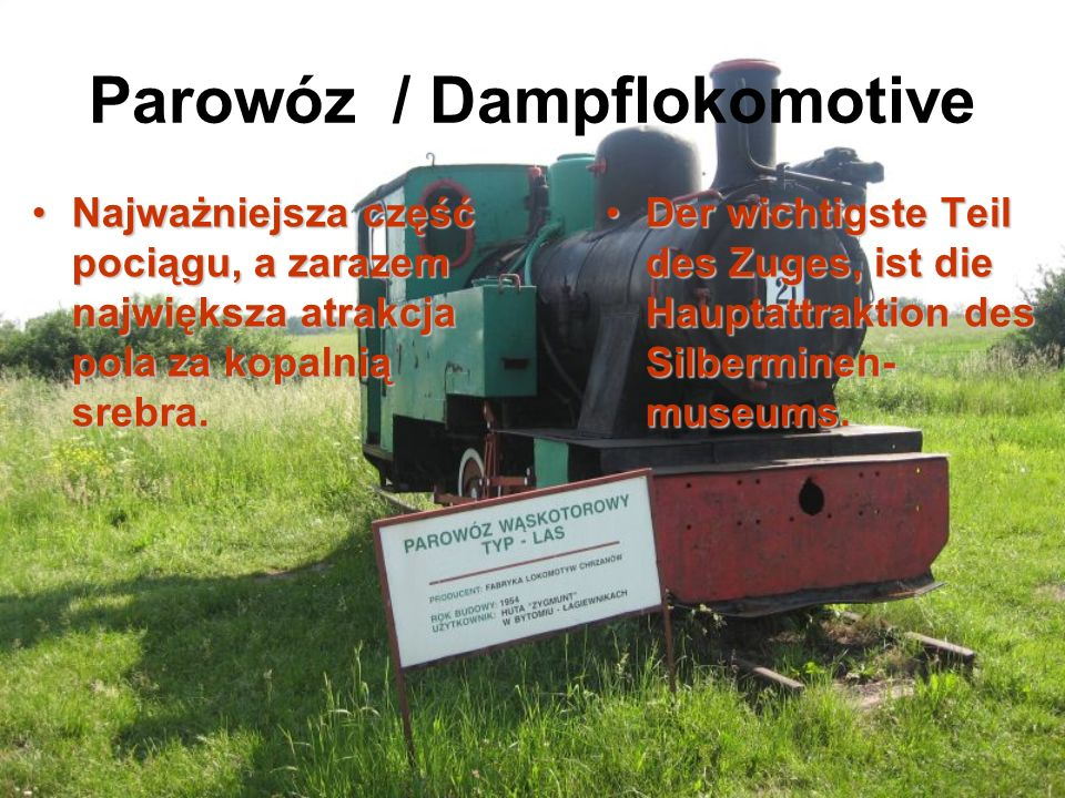 Parowóz / Dampflokomotive