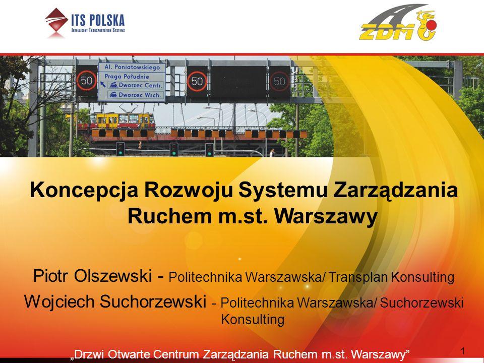 Koncepcja Rozwoju Systemu Zarządzania Ruchem m.st. Warszawy