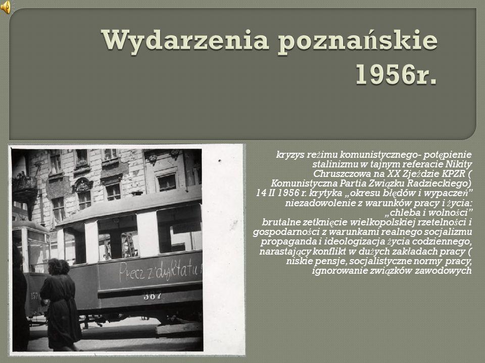 Wydarzenia poznańskie 1956r.