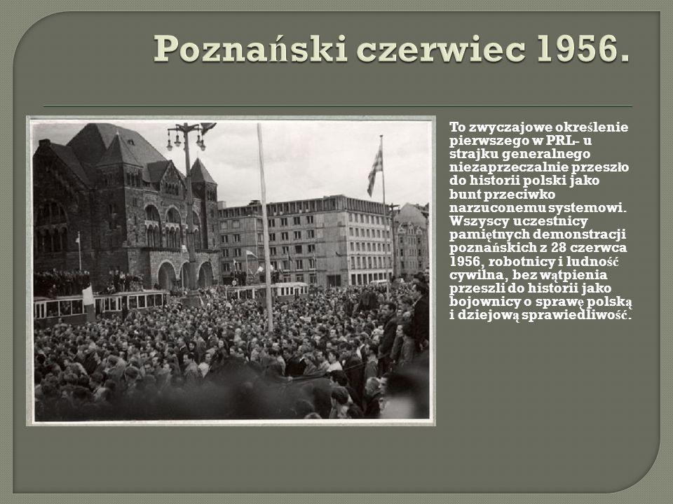 Poznański czerwiec 1956.