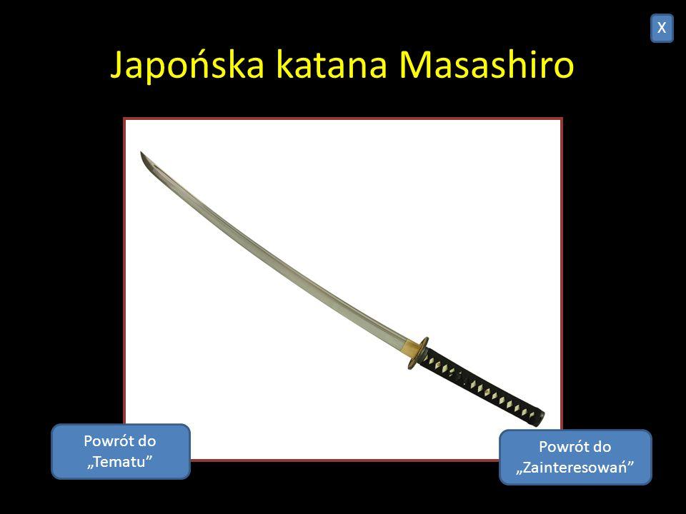 Japońska katana Masashiro