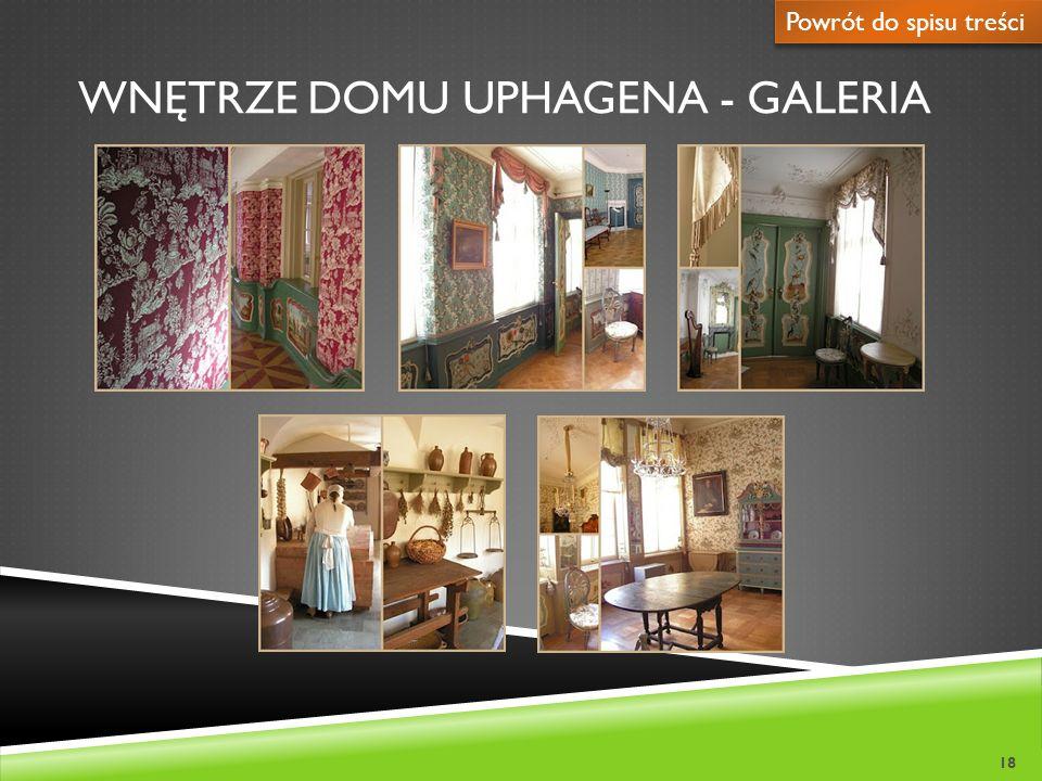 Wnętrze domu uphagena - galeria