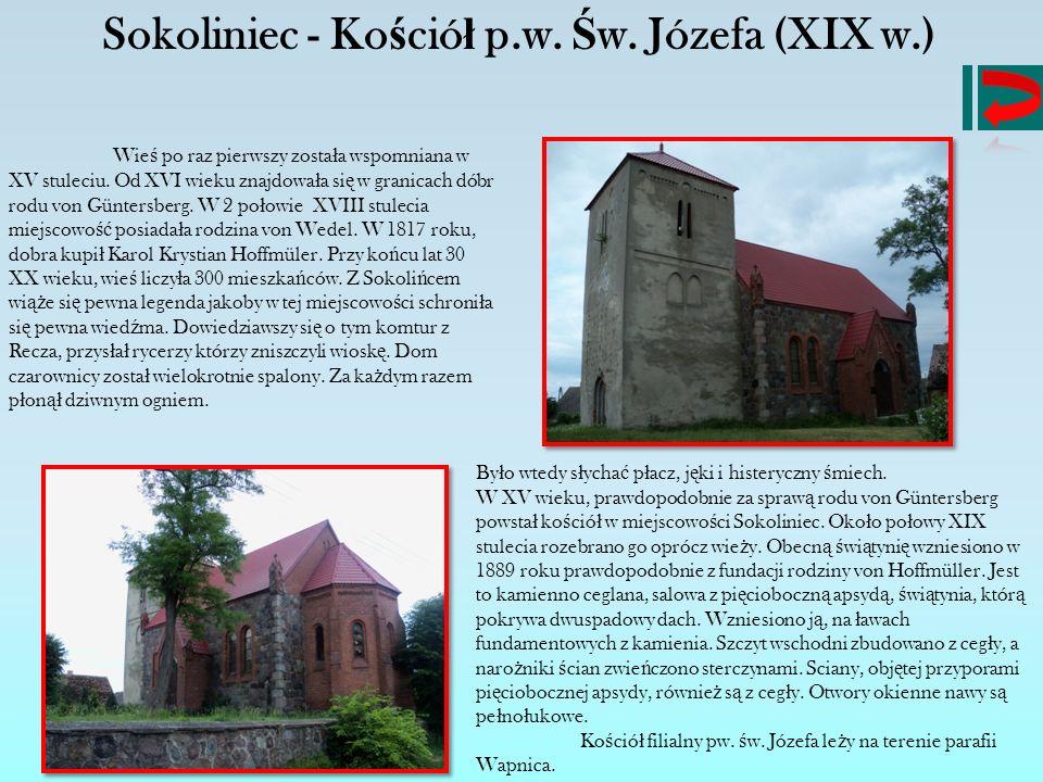 Sokoliniec - Kościół p.w. Św. Józefa (XIX w.)
