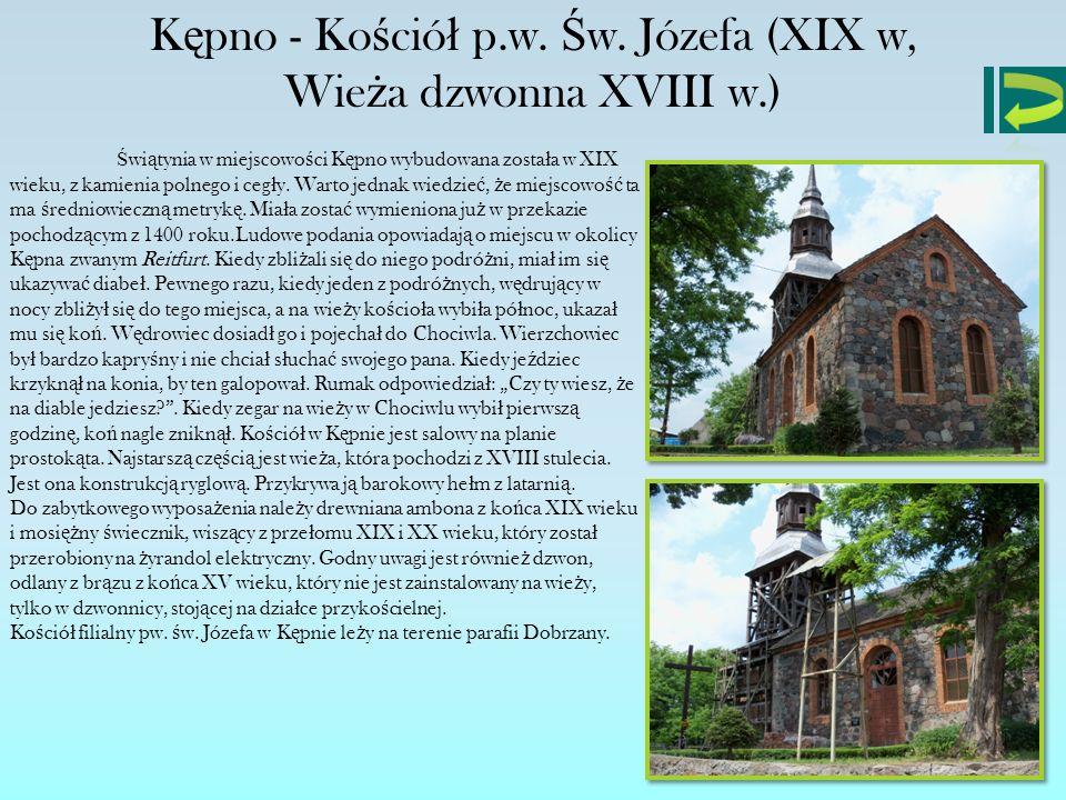 Kępno - Kościół p.w. Św. Józefa (XIX w,