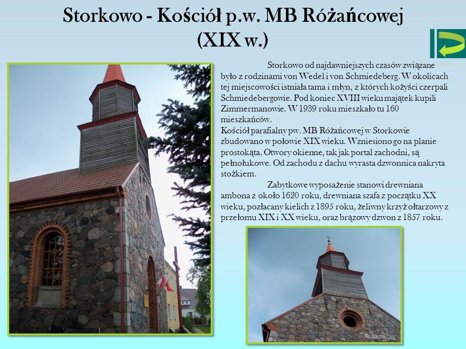 Storkowo - Kościół p.w. MB Różańcowej (XIX w.)