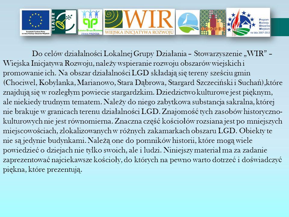 """Do celów działalności Lokalnej Grupy Działania – Stowarzyszenie """"WIR – Wiejska Inicjatywa Rozwoju, należy wspieranie rozwoju obszarów wiejskich i promowanie ich."""