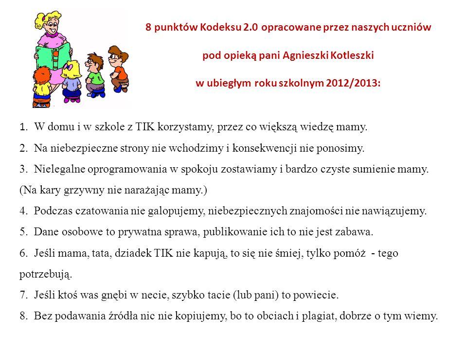 w ubiegłym roku szkolnym 2012/2013: