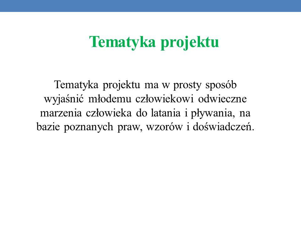 Tematyka projektu