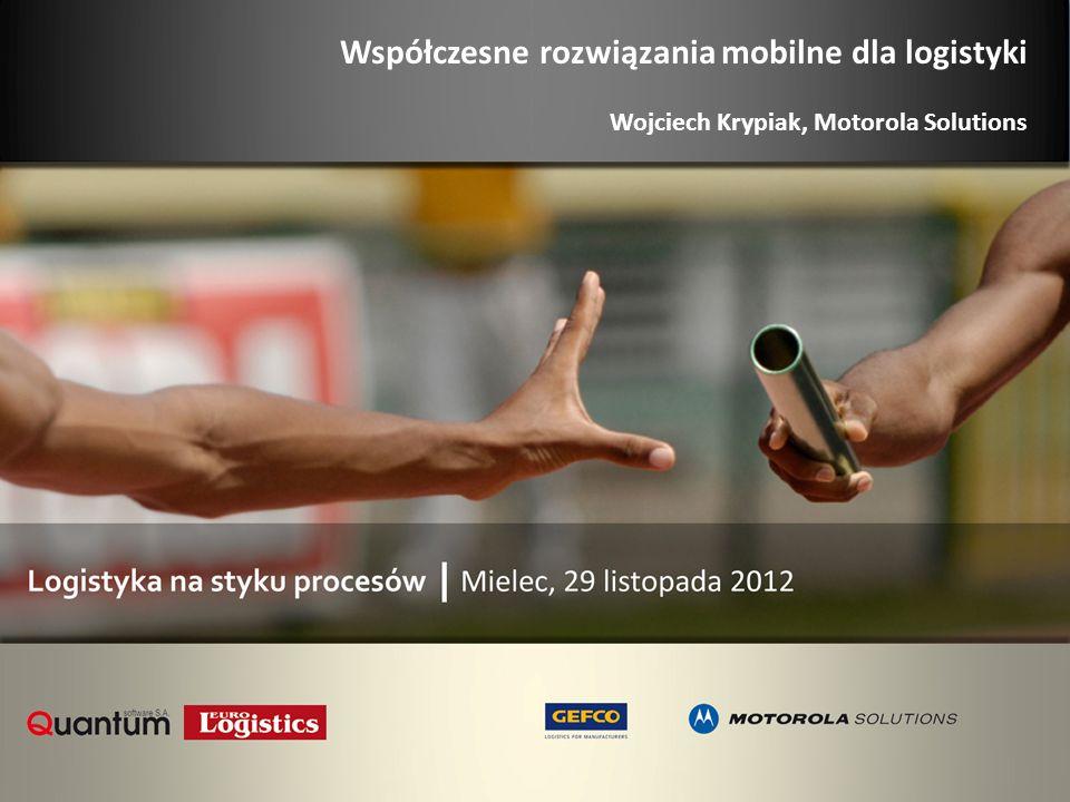 Współczesne rozwiązania mobilne dla logistyki