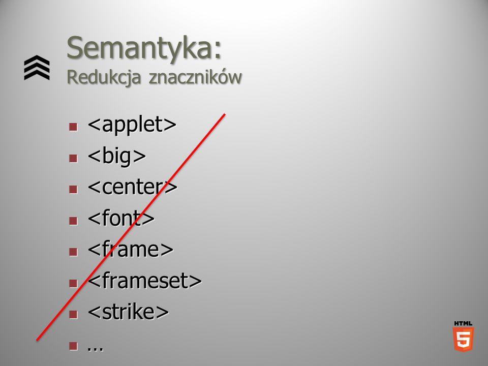 Semantyka: Redukcja znaczników