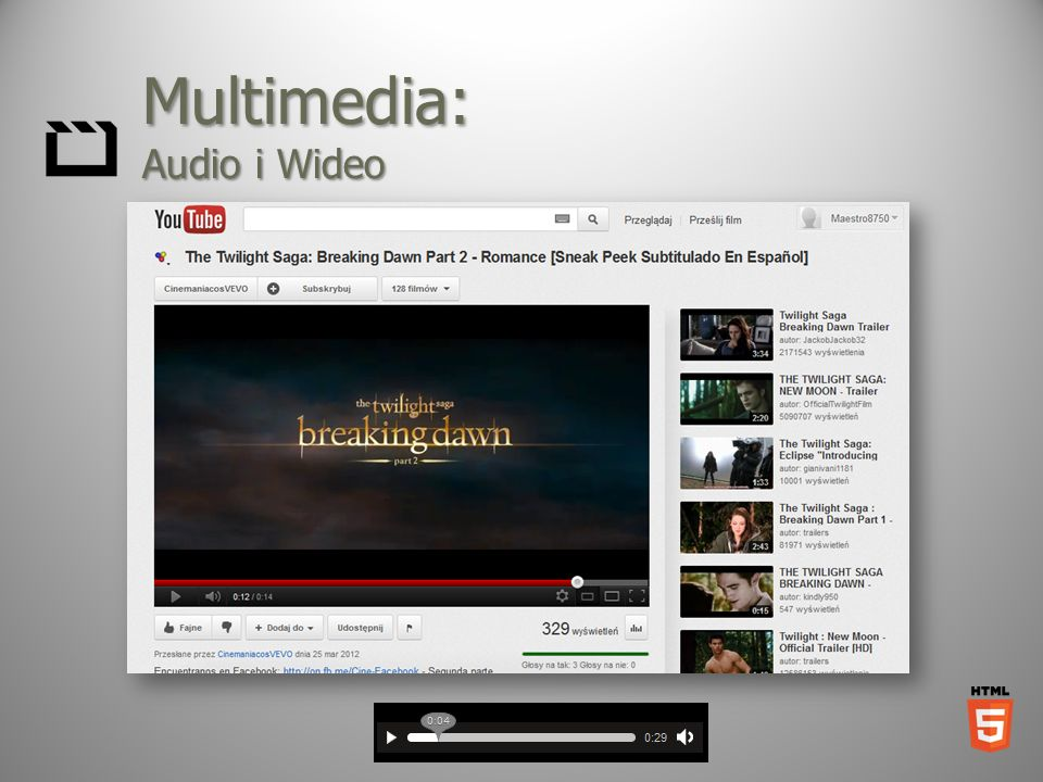 Multimedia: Audio i Wideo