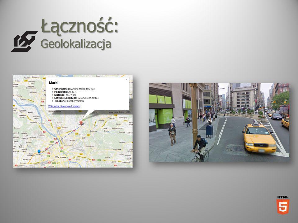 Łączność: Geolokalizacja
