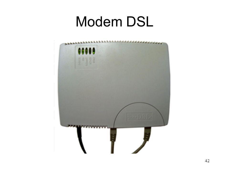 Modem DSL 42