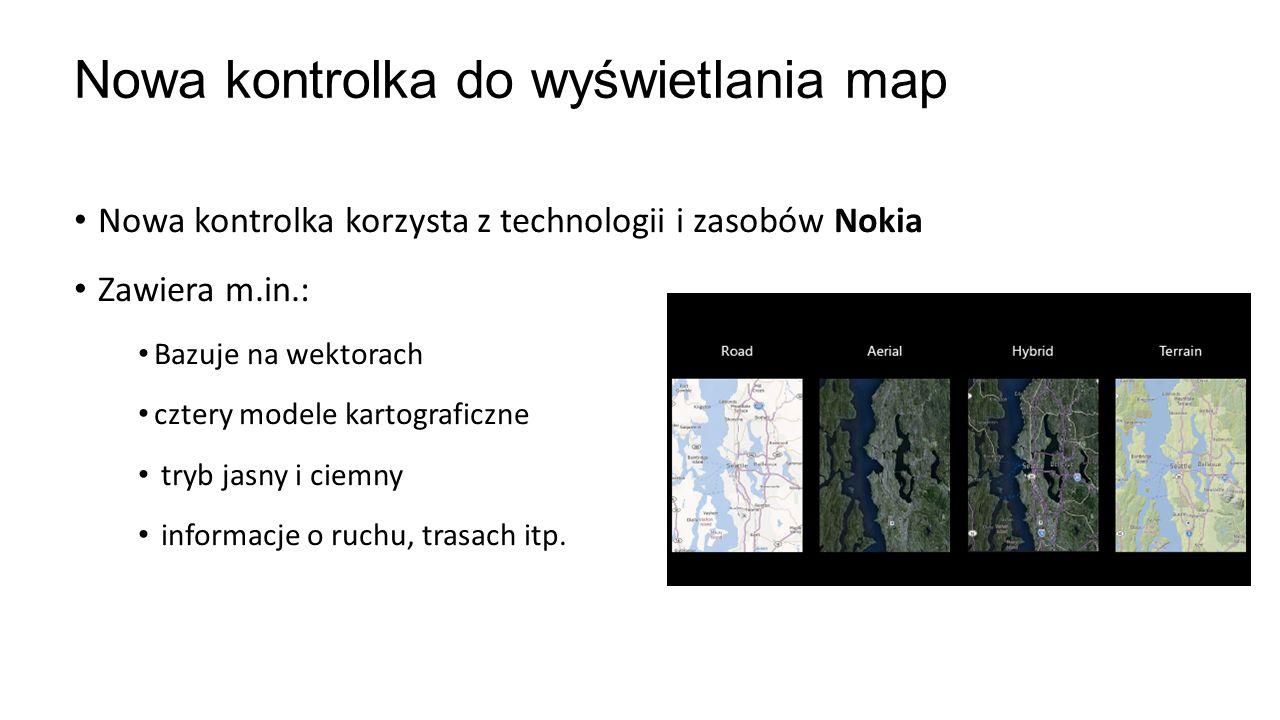 Nowa kontrolka do wyświetlania map