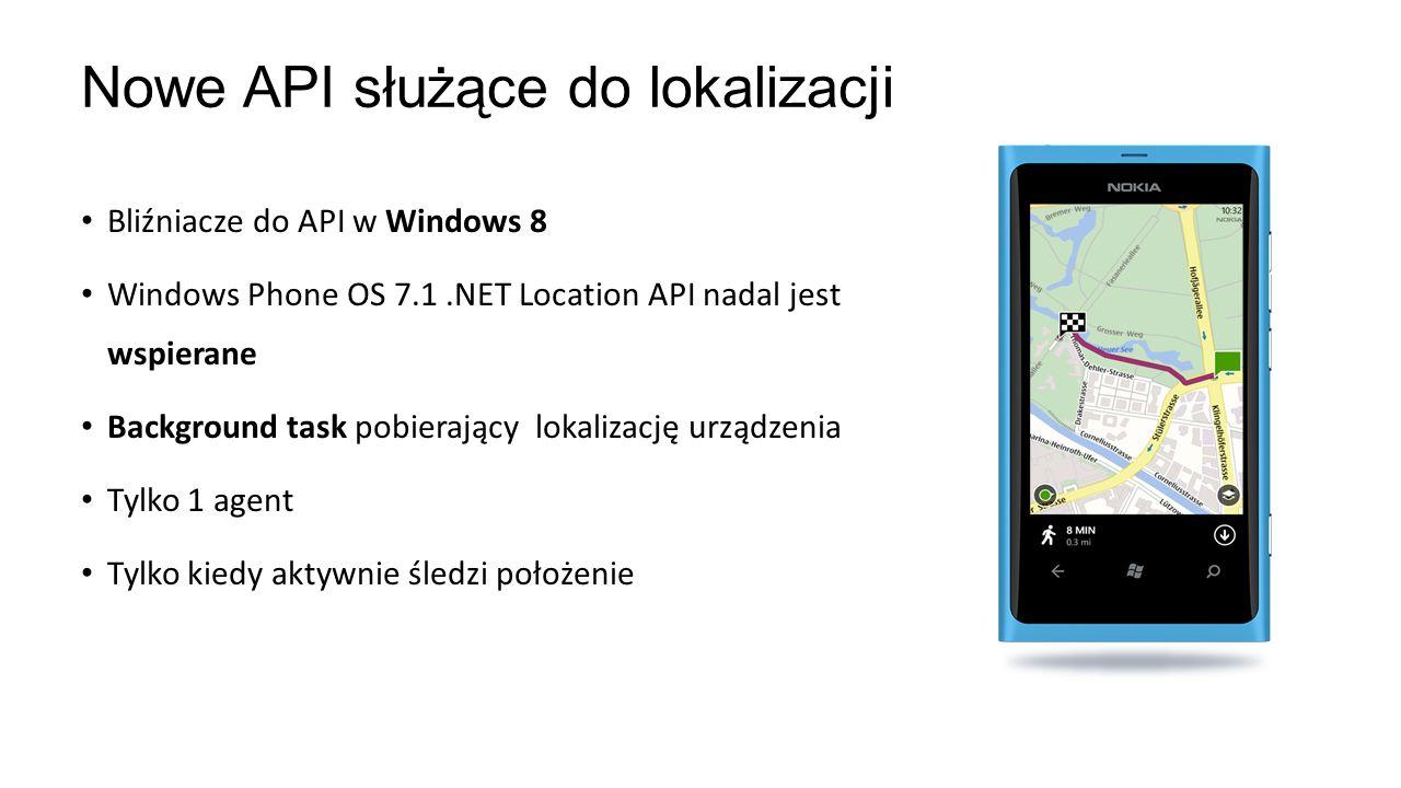 Nowe API służące do lokalizacji