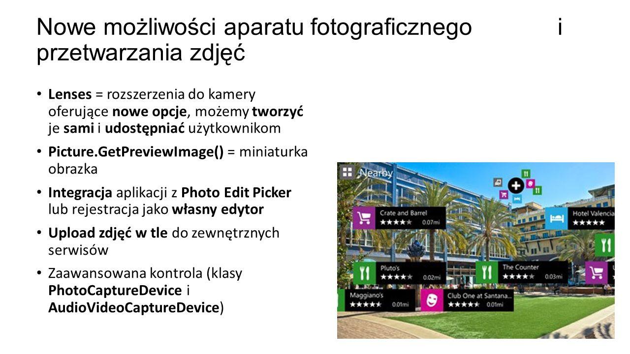 Nowe możliwości aparatu fotograficznego i przetwarzania zdjęć