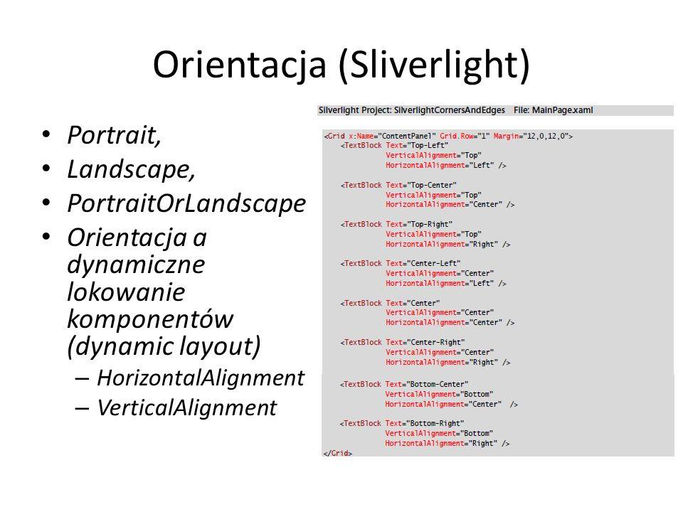Orientacja (Sliverlight)