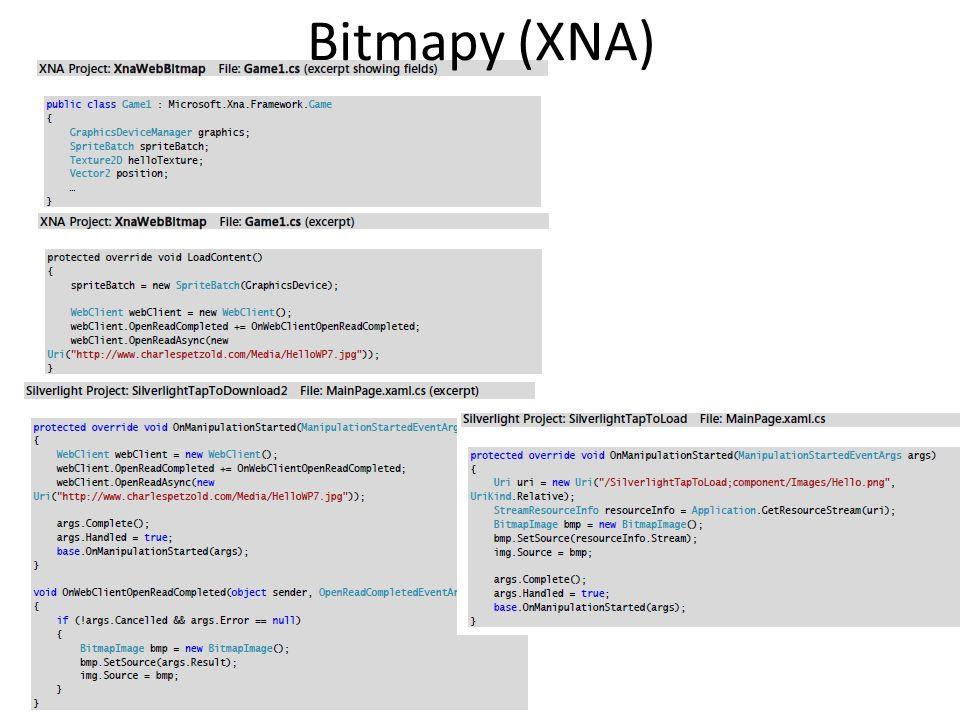 Bitmapy (XNA)