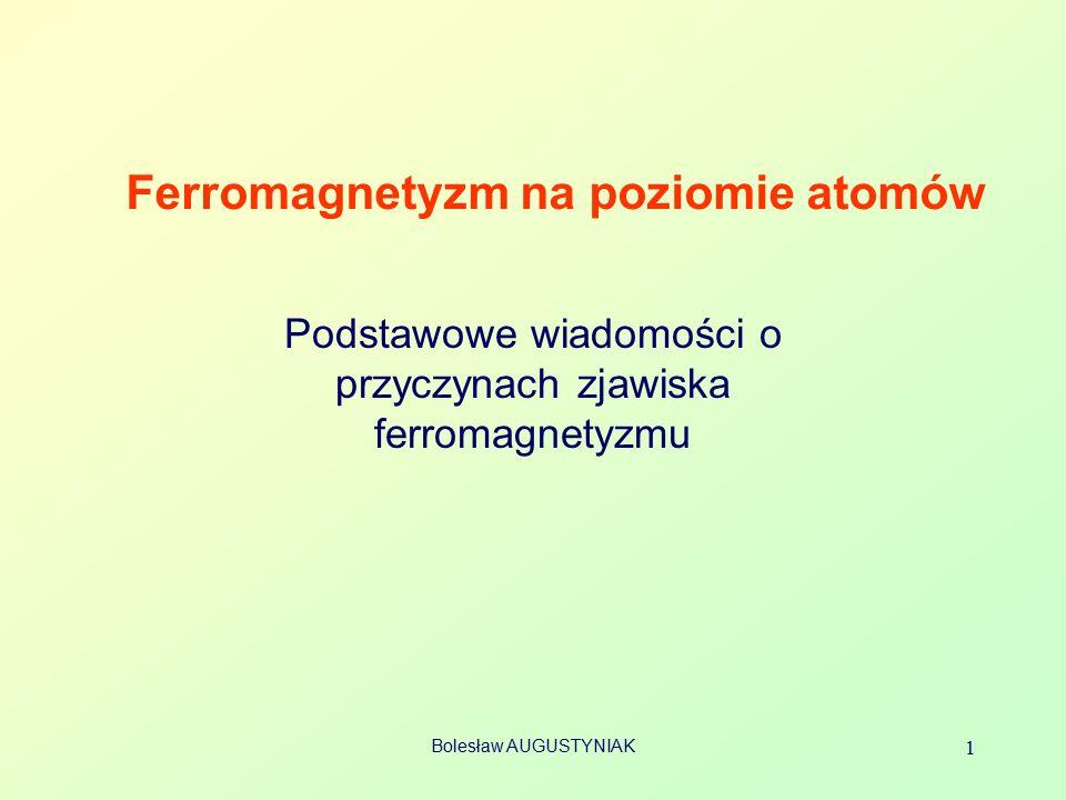 Ferromagnetyzm na poziomie atomów