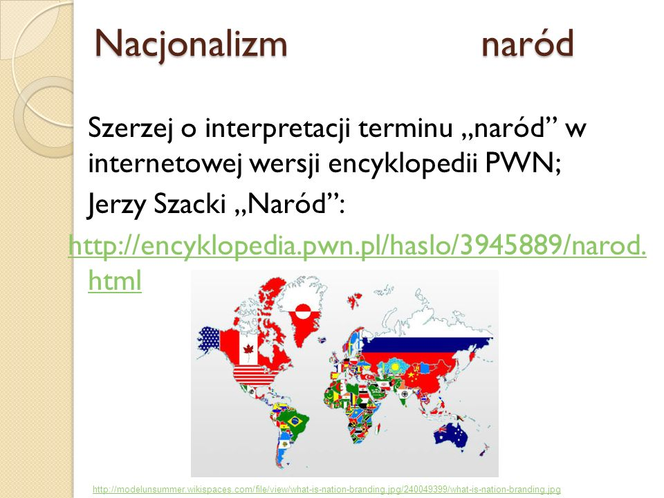 Nacjonalizm naród