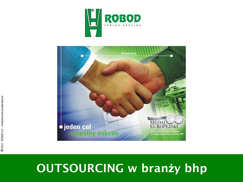 OUTSOURCING w branży bhp