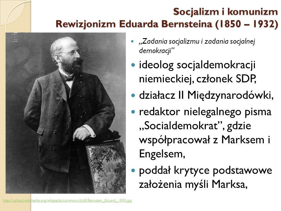 ideolog socjaldemokracji niemieckiej, członek SDP,
