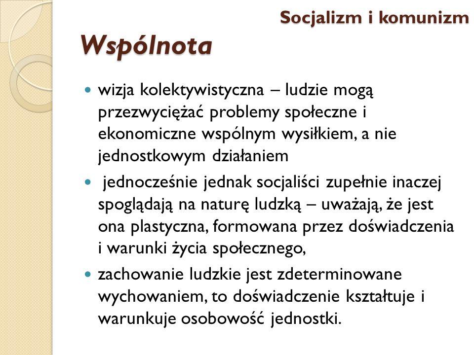Wspólnota Socjalizm i komunizm