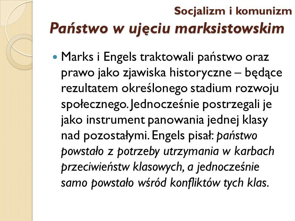 Państwo w ujęciu marksistowskim