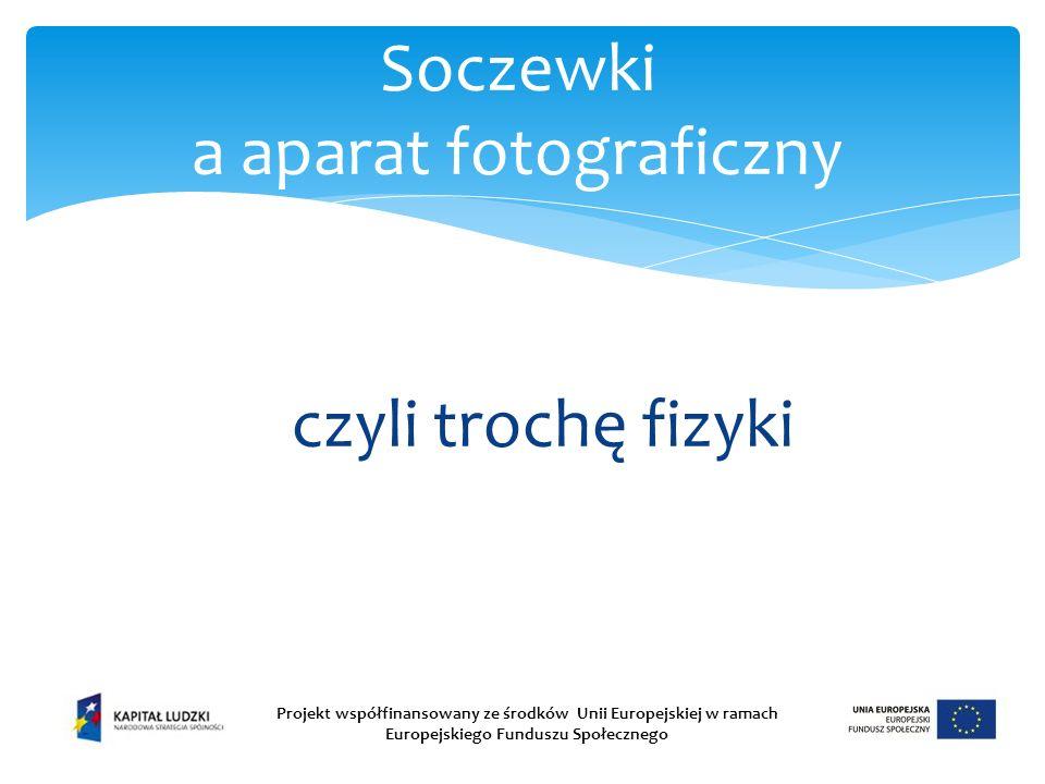 Soczewki a aparat fotograficzny