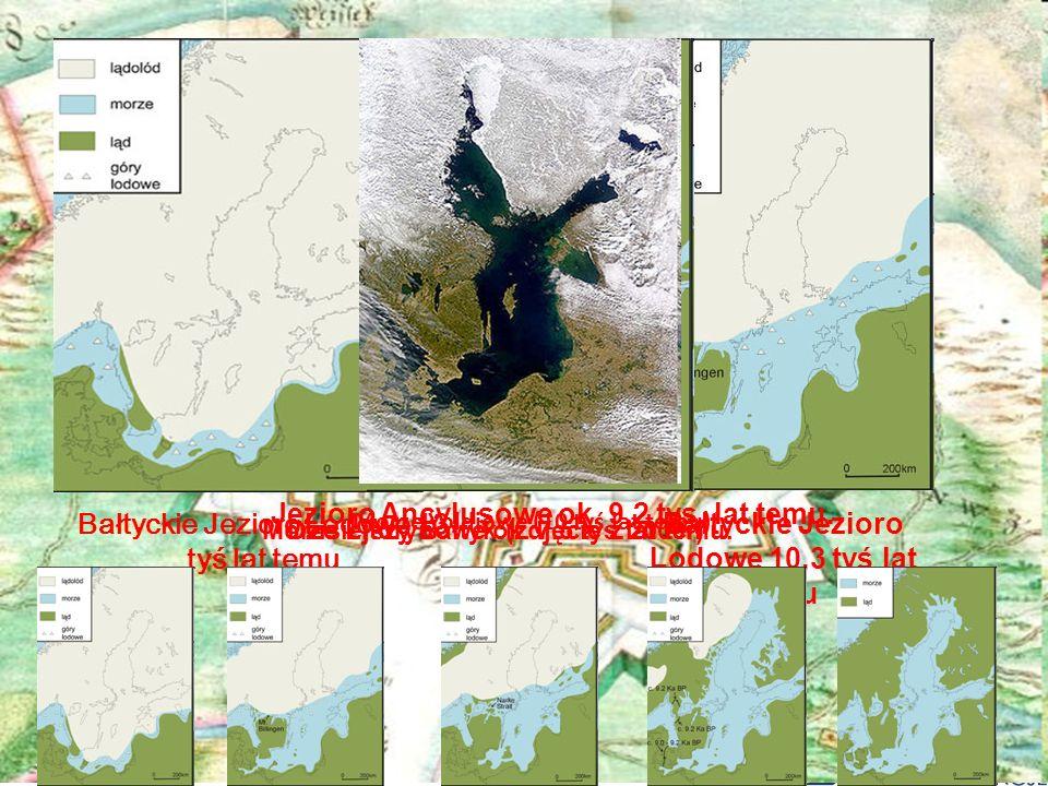 Jezioro Ancylusowe ok. 9,2 tys. lat temu.