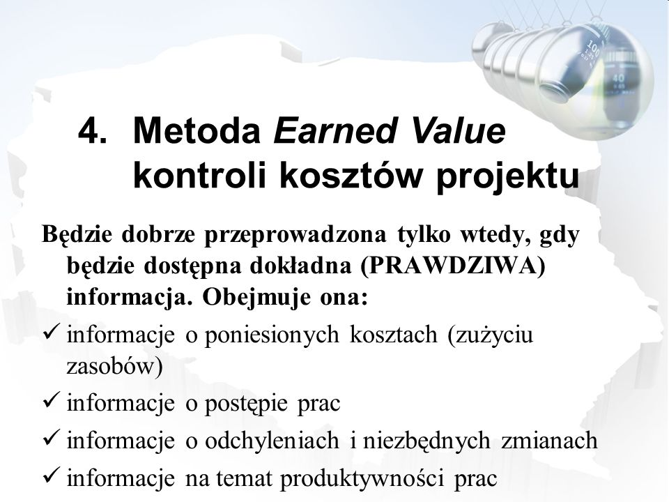 Metoda Earned Value kontroli kosztów projektu