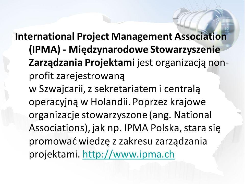 International Project Management Association (IPMA) - Międzynarodowe Stowarzyszenie Zarządzania Projektami jest organizacją non-profit zarejestrowaną w Szwajcarii, z sekretariatem i centralą operacyjną w Holandii.
