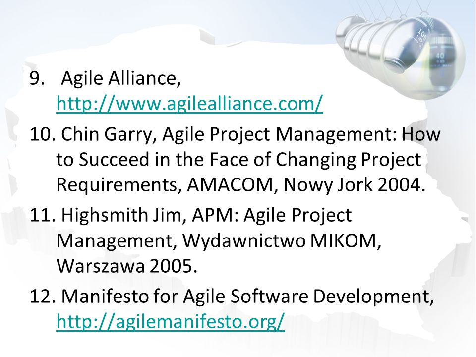Agile Alliance, http://www.agilealliance.com/