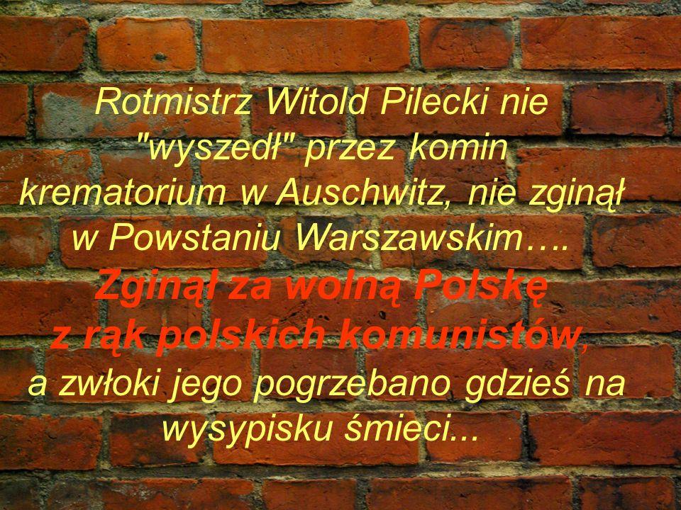 z rąk polskich komunistów,