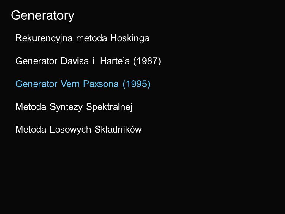 Generatory Rekurencyjna metoda Hoskinga