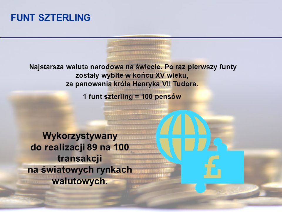 1 funt szterling = 100 pensów