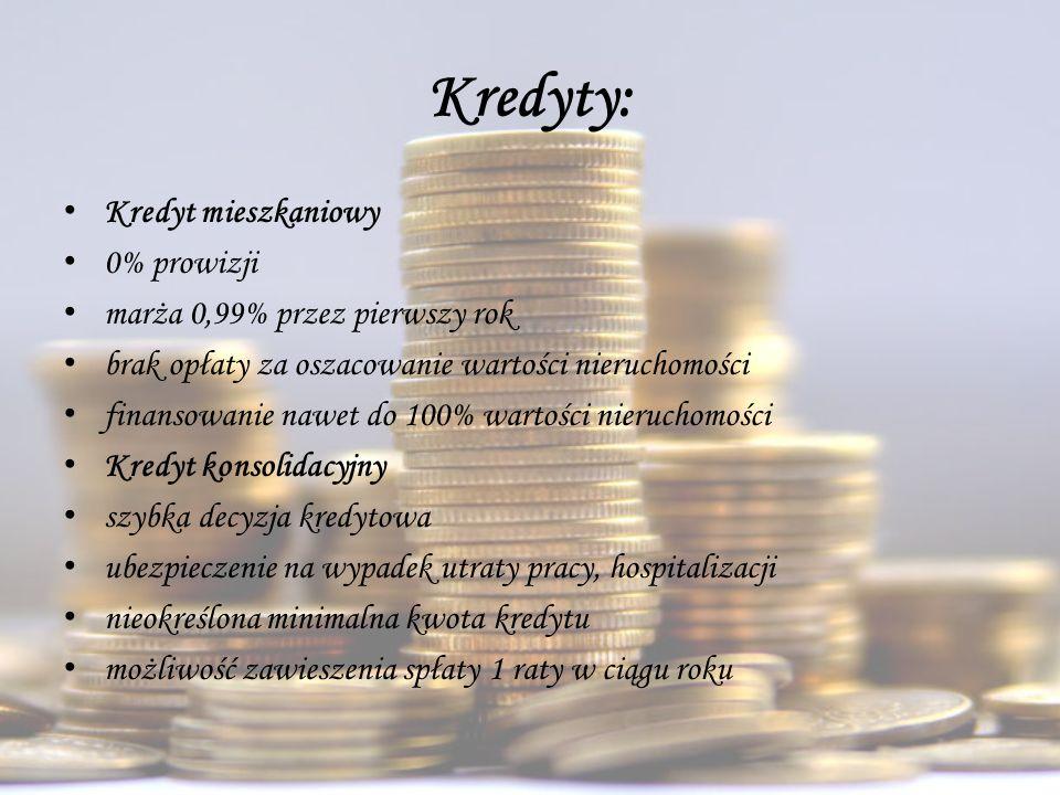 Kredyty: Kredyt mieszkaniowy 0% prowizji