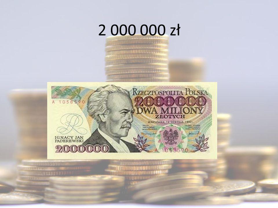 2 000 000 zł